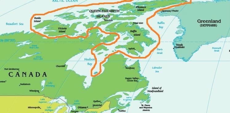 Канадский Арктический архипелаг