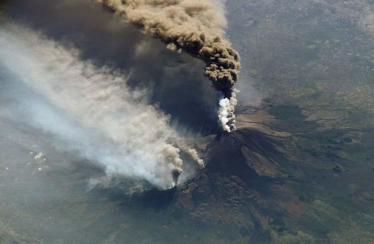 Вулканическое извержение